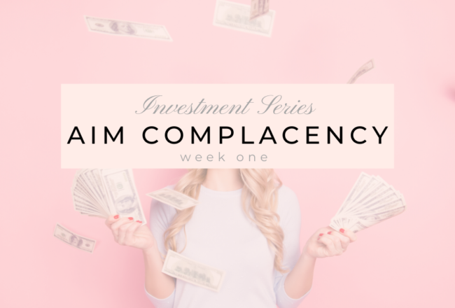 Aim Complacency